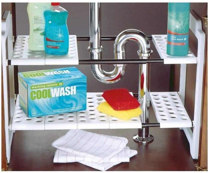 ADDIS Under Sink Storage - CLEVER!