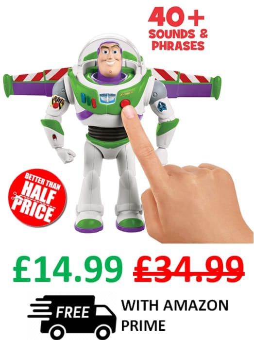 Cheap Disney Pixar Toy Story Ultimate Walking Buzz Lightyear - Save £20!