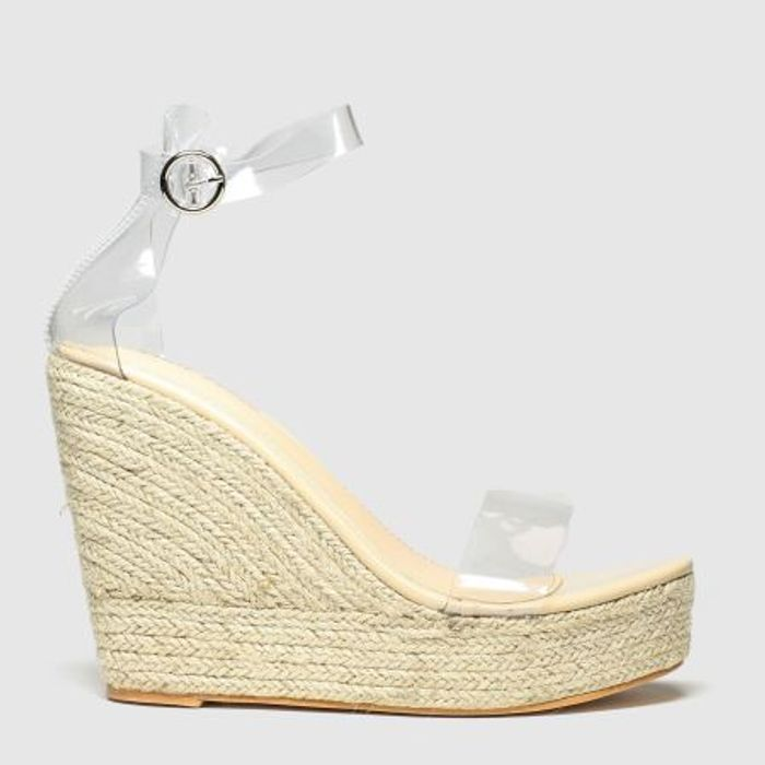Public Desire Natural Oprah Sandals - save 70%
