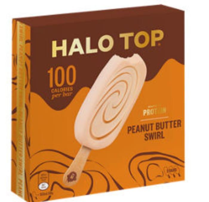 Halo Top 3 Peanut Butter Swirl Ice Creams - Half Price at ASDA!