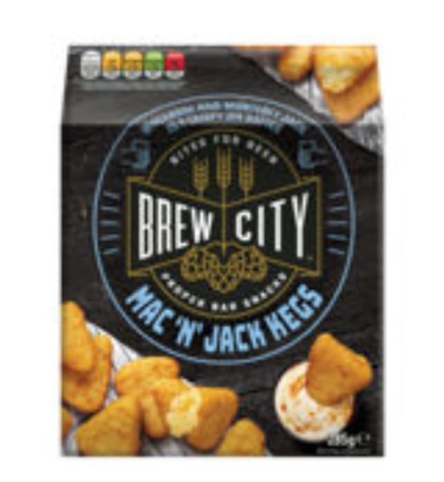 Brew City Beermunch Mac 'N' Jack Cheese Kegs - Half Price at ASDA!