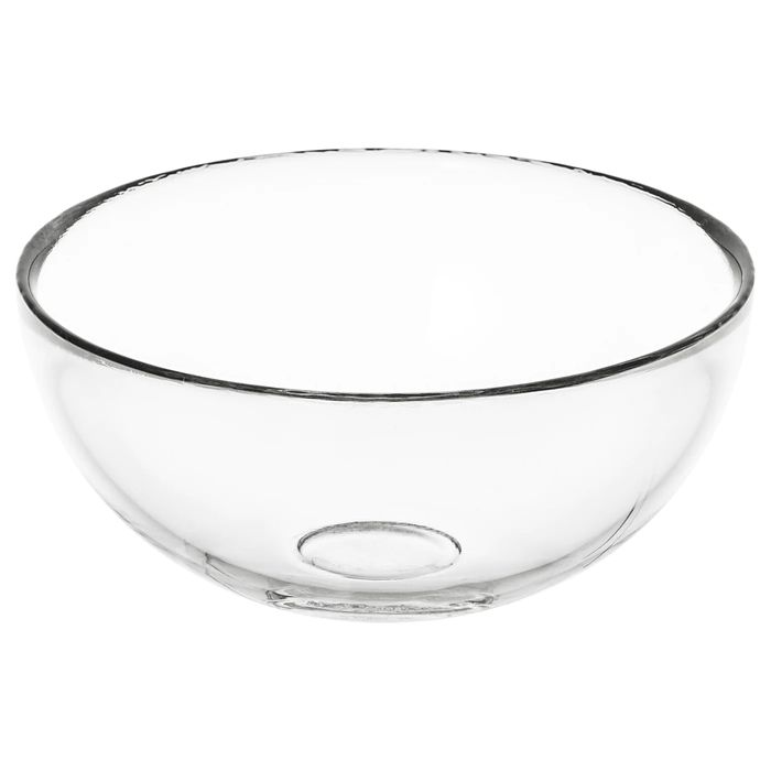 BLANDA Serving Bowl, Clear Glass 12 Cm Only £0.75