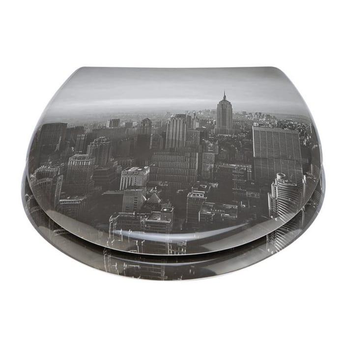 Best Price! Argos Home Photgraphic New York City Toilet Seat