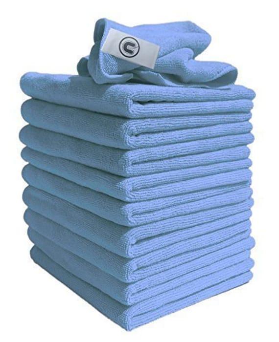 Microfibre Cleaning Cloths 10 Pcs