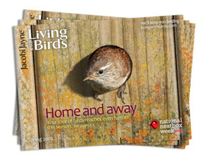 Request Our Free Living with Birds Catalogue