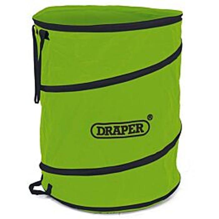 Cheap Draper 160L Garden Pop up Tidy Bag - Green Only £9.99!