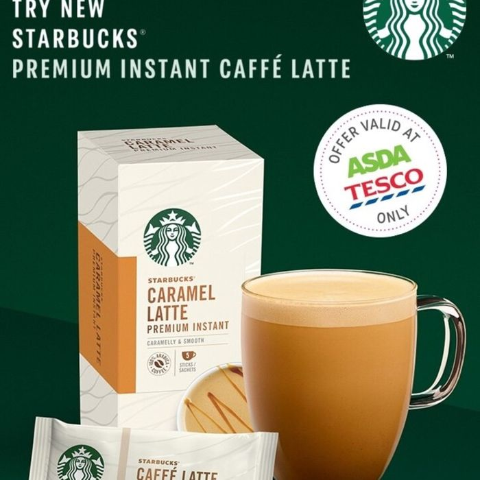 Starbucks Premium Instant Coffee, Latte, Cappuccino Etc