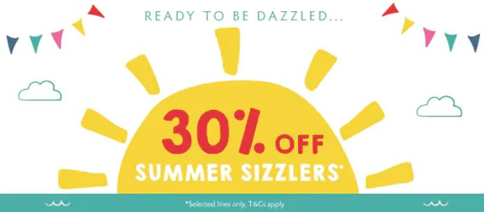 30% off Summer Sizzlers at Frugi