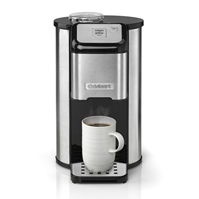 *HALF PRICE* Cuisinart One Cup Grind & Brew   Bean-to-Cup Filter Coffee Maker