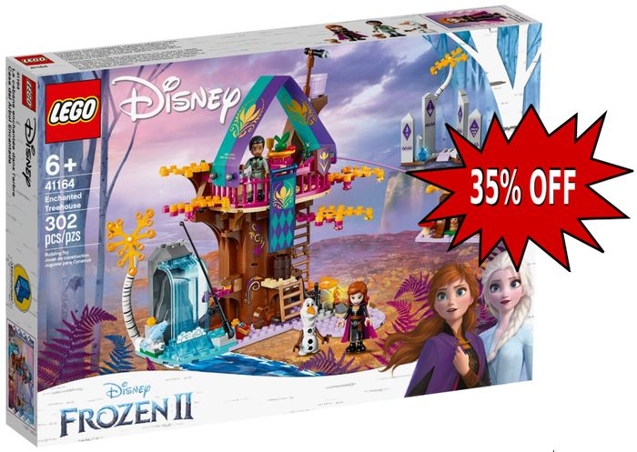 LEGO Disney Frozen II - Enchanted Treehouse 41164