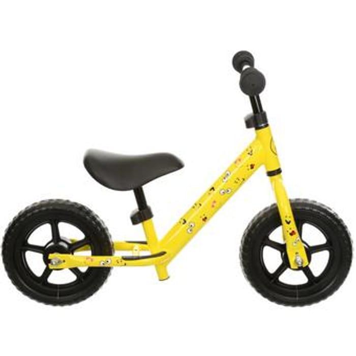 """Indi Limited Edition Balance Bike - Yellow - 10"""" Wheel"""