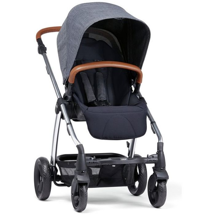 Mamas and Papas Sola Pushchair Navy Marl
