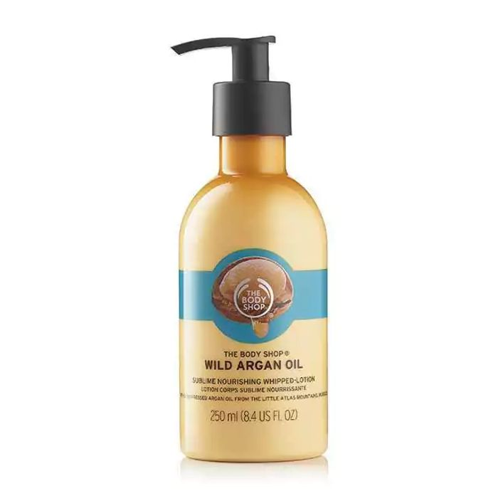 Argan Oil Lotion Save 66% at The Body Shop(60ml)