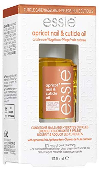 Essie Nail Care Cuticle Apricot Oil, Softening, Moisturizing Treatment