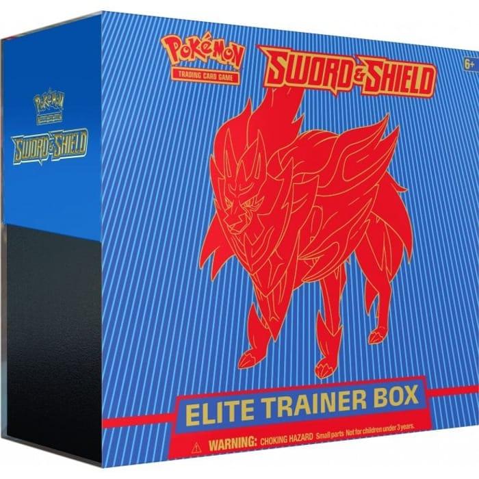 POKEMON Elite Trainer Box - Sword and Shield BLUE