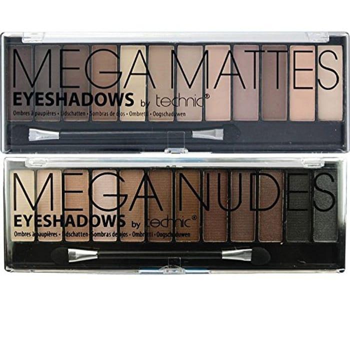 Mega Nudes & Mega Matte Nudes Eyeshadow Palette Set