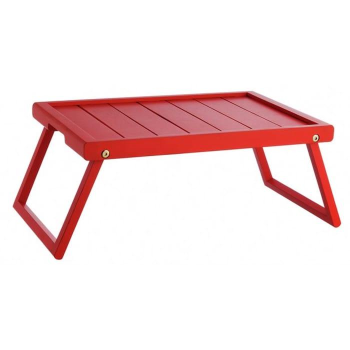 Habitat Tiffany Folding Breakfast Tray - Red