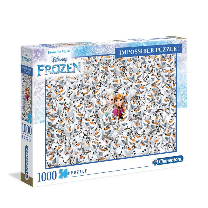 Disney Frozen - 1000 Piece Jigsaw Impossible Puzzle HALF PRICE