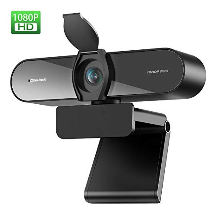Campark HD 1080P Webcam with Microphone