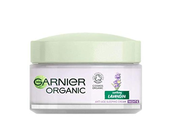 Garnier Organic Lavandin Anti-Age Sleeping Cream, 50 Ml