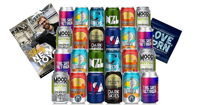 24 Craft Beers for £27.95 + Free Delivery