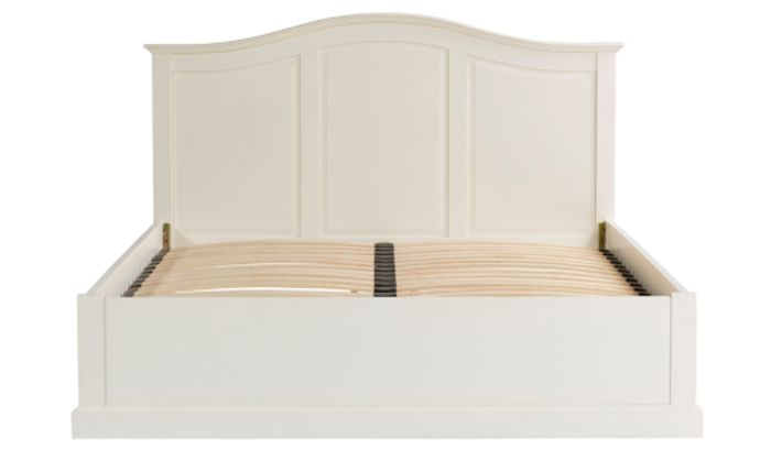 Rochelle Bed in Ivory - Double