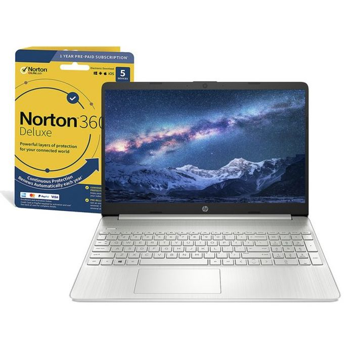 Cheap HP Slim 15.6in I5 8GB 256GB FHD Laptop & Norton 360 Only £499.99!