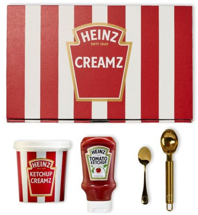 Heinz Tomato Ketchup ICE CREAM Kit