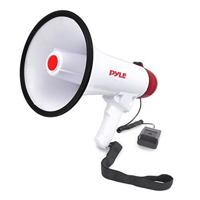 Megaphone Speaker with Microphone Bullhorn Integrated