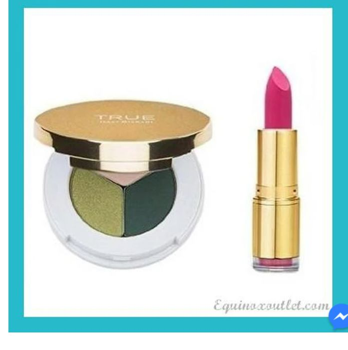 TRUE COSMETICS LIPSTICK & EYESHADOW + Freebie For The 1st 50 ORDERS *Pay P&P