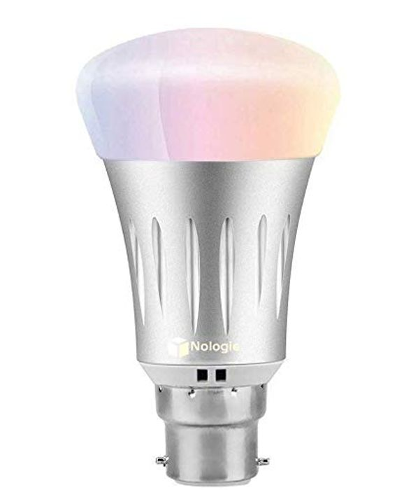 Price Drop! Nologie LED WiFi Smart Bulb B22 Bayonet ,7W