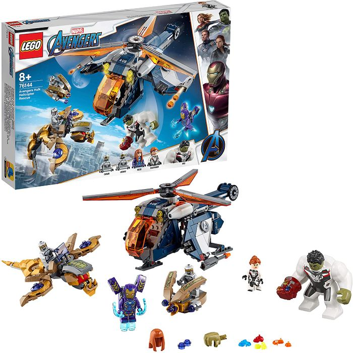 SAVE £15! LEGO Marvel Avengers Hulk Helicopter Rescue (76144)