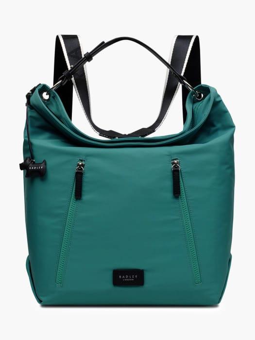 *HALF PRICE* Radley Cable Street Zip Top Backpack, Jungle