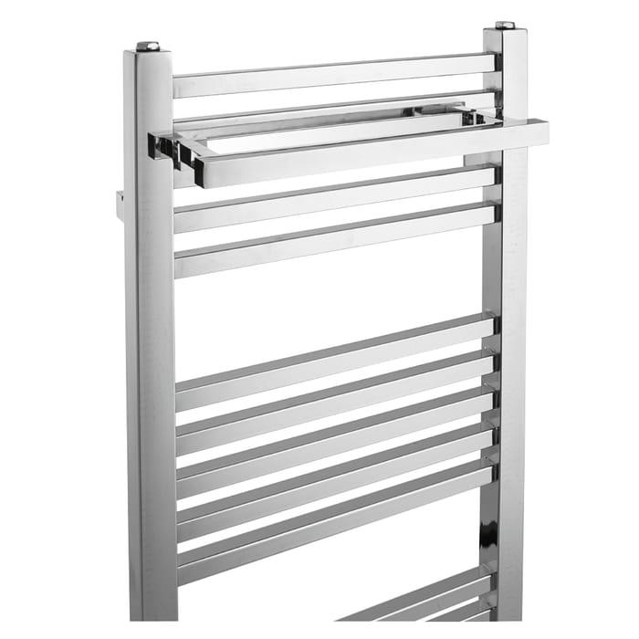 Pegasus Square Chrome Towel Radiator Del Included