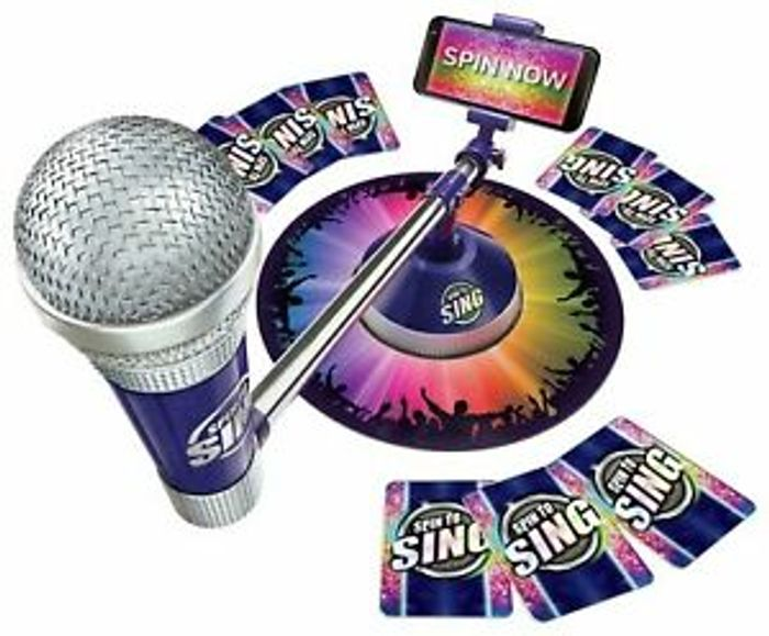 Spin to Sing Game & Free Delivery