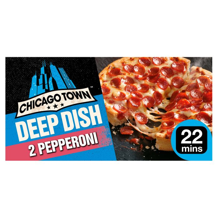 Chicago Town 2 Deep Dish Pizzas ( 5 Varieties Available )
