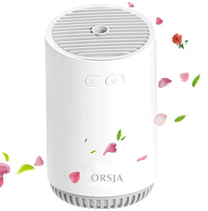 ORSJA Wireless Humidifier 320ml with Colorful LED Night Lights