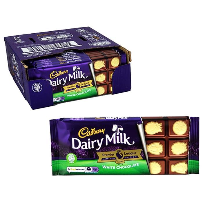 20 X Cadbury Dairy Milk 100g Limited Edition Chocolate Bars