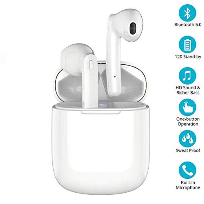 Wireless Earbuds Bluetooth 5.0, True Wireless Earbuds