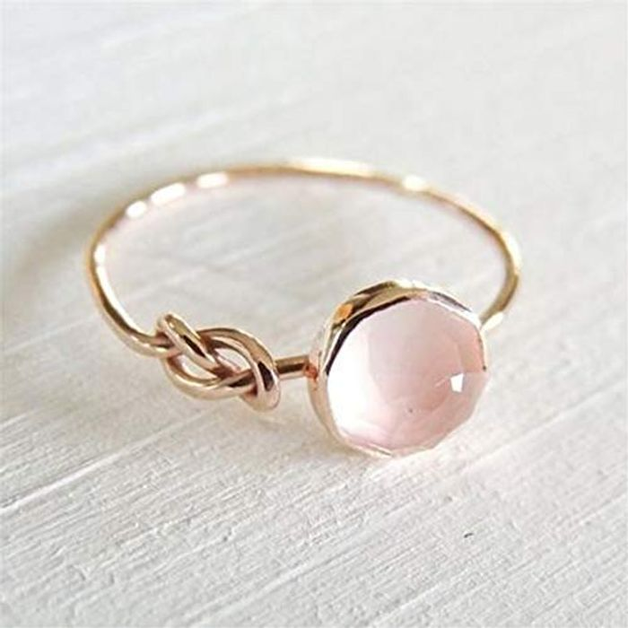 Rose Gold Ring Free Delivery