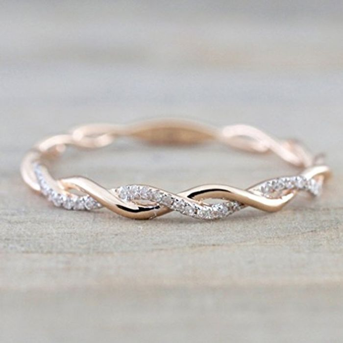 Twist Ring Free Delivery