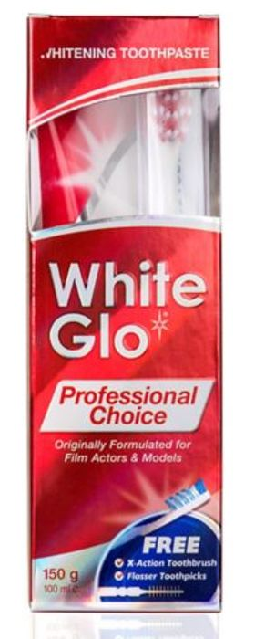 White Glo Professional Choice Whitening Toothpaste 100ml - Online And In Store