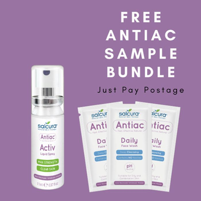 ANTIAC ACNE SAMPLE STARTER PACK - FREE (Pay Postage)