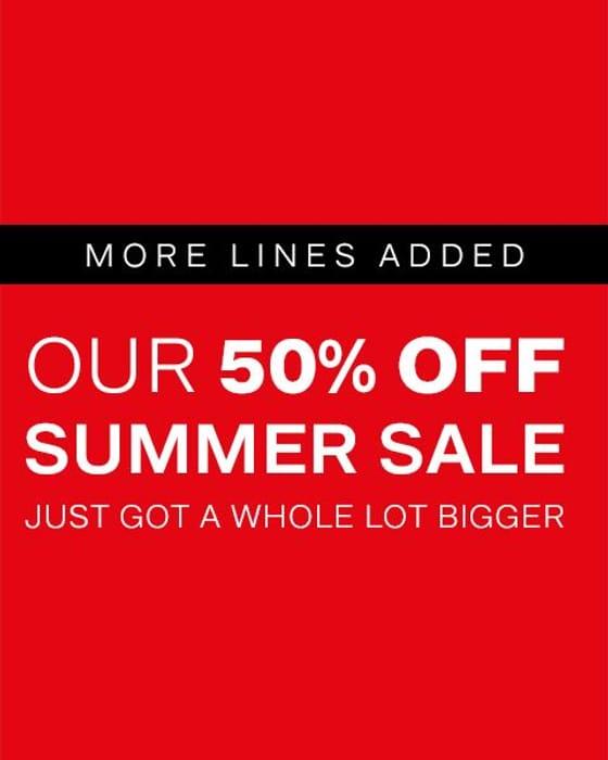 50% Sale at Deichmann