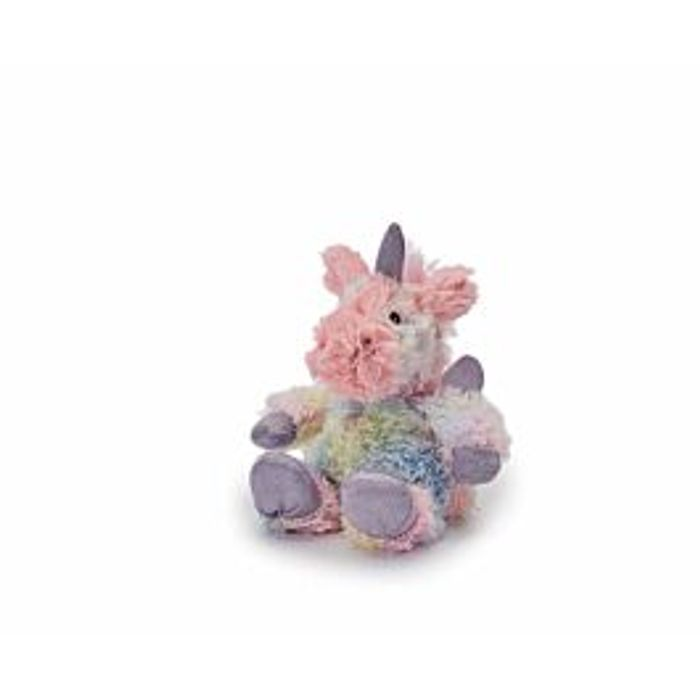 Warmies Mini Rainbow Unicorn Plush Toy