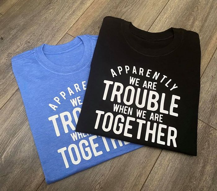 """Win a Pair of """"Trouble"""" T-Shirts!"""