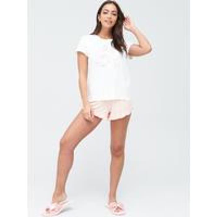 CHELSEA PEERS Bridal Short Pyjama Set - Pink