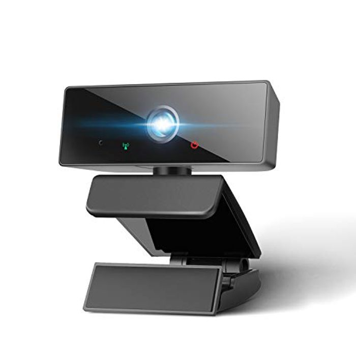1080P Full HD Webcam with Microphone - Free Delivery