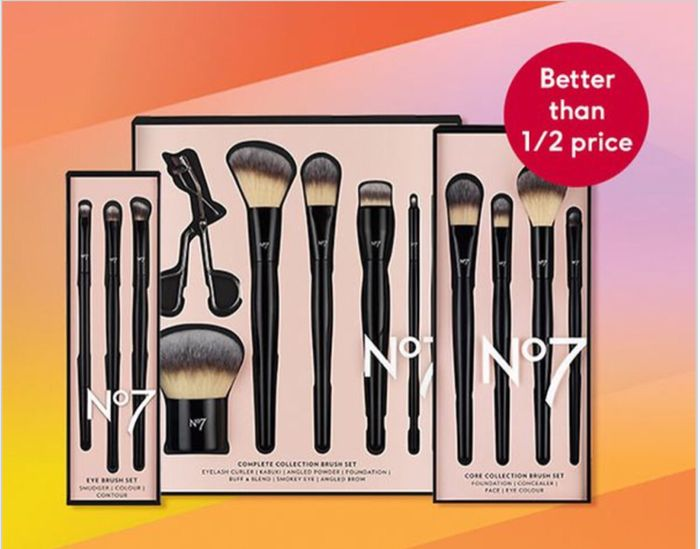 BETTER than HALF Price on No7 Accessories Collection