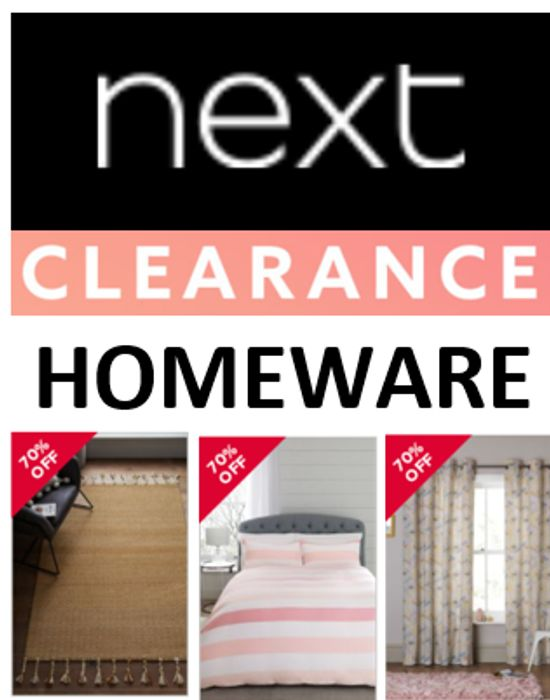 Special Offer - NEXT CLEARANCE - HOMEWARE